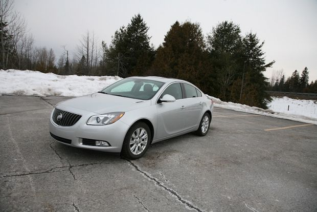 Review: 2012 Buick Regal eAssist