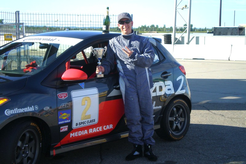 Racing a Mazda2 in CTCC