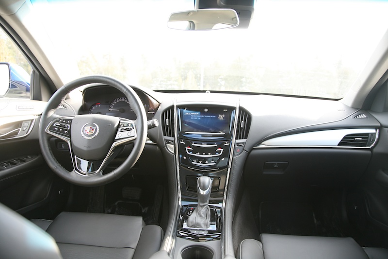 Review: 2014 Cadillac ATS 2.0-litre AWD