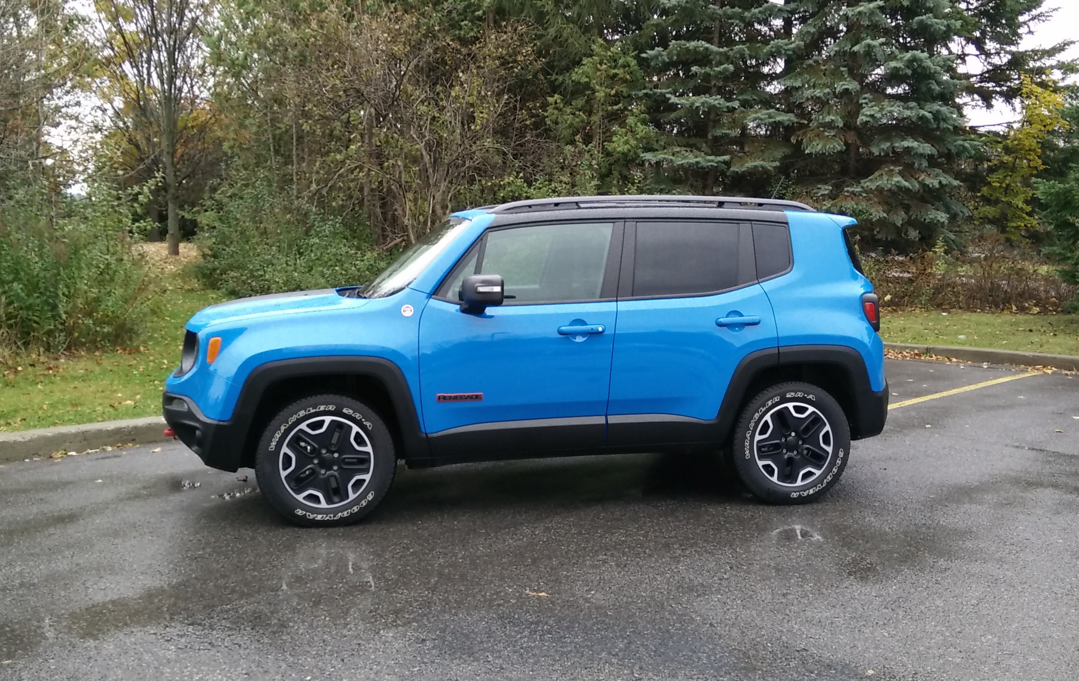 Review: 2015 Jeep Renegade Trailhawk