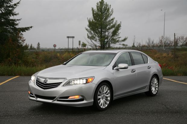 Review: 2014 Acura RLX