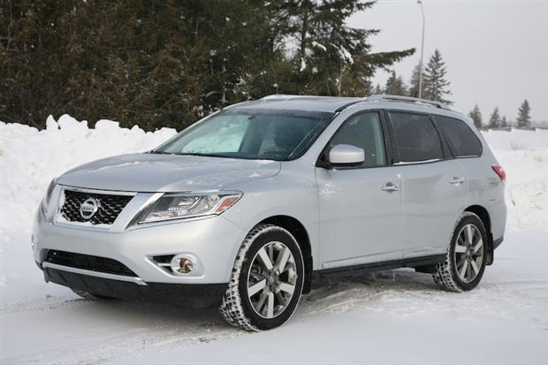 Review: 2013 Nissan Pathfinder Platinum. Pathfinder