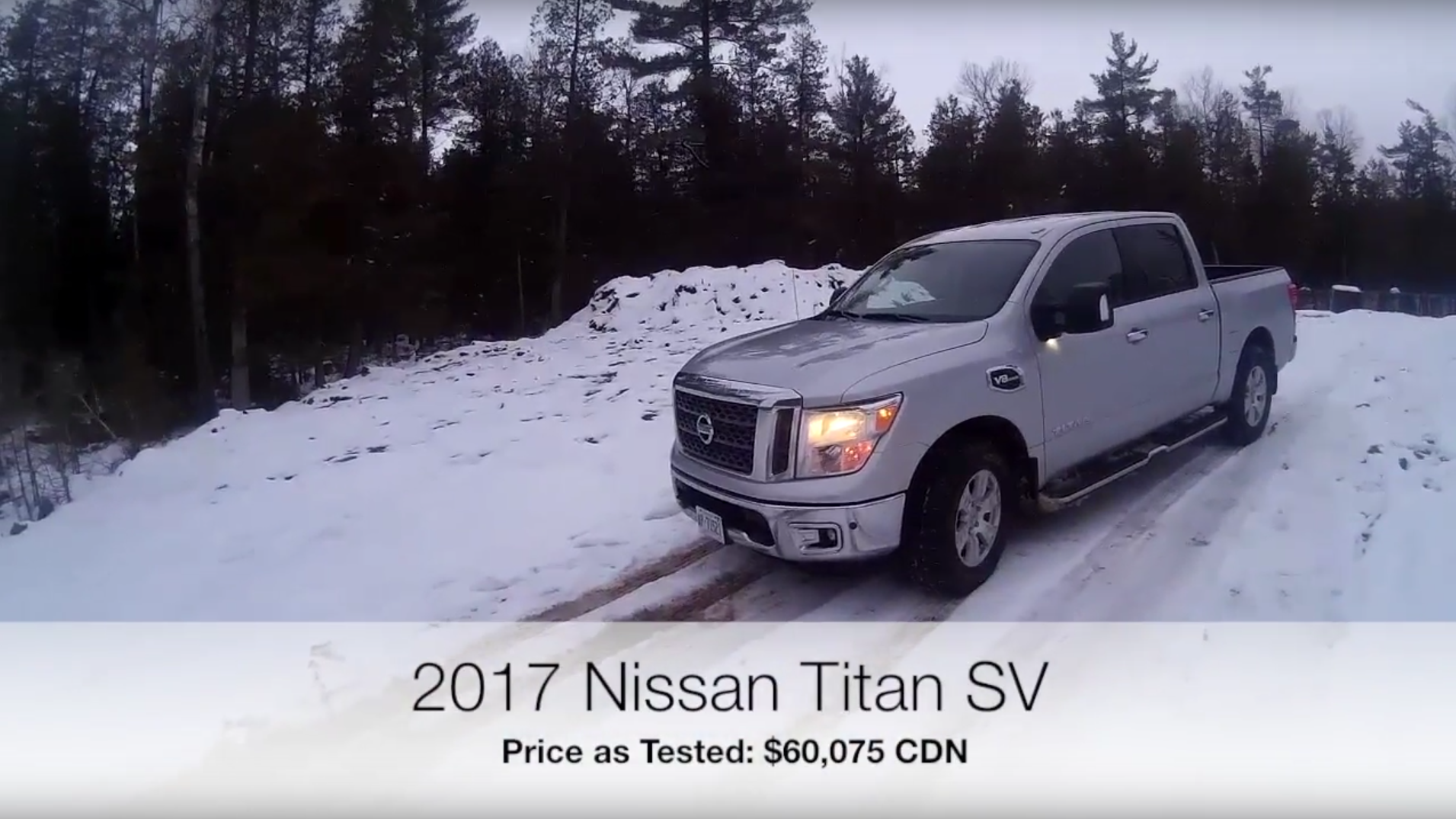 2017 Nissan Titan SV - A second look