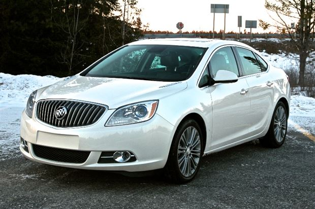 Review: 2013 Buick Verano Turbo